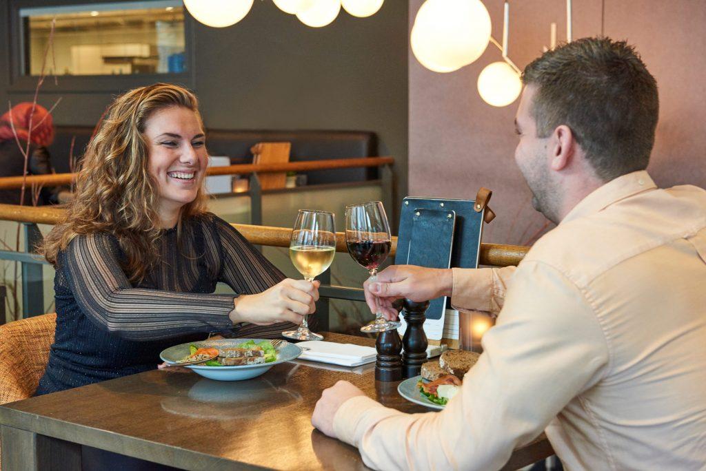 Menukaart diner Grand Café Puur